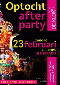 Optocht afterparty