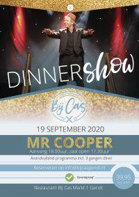 Bij Cas Dinnershow met Mr Cooper
